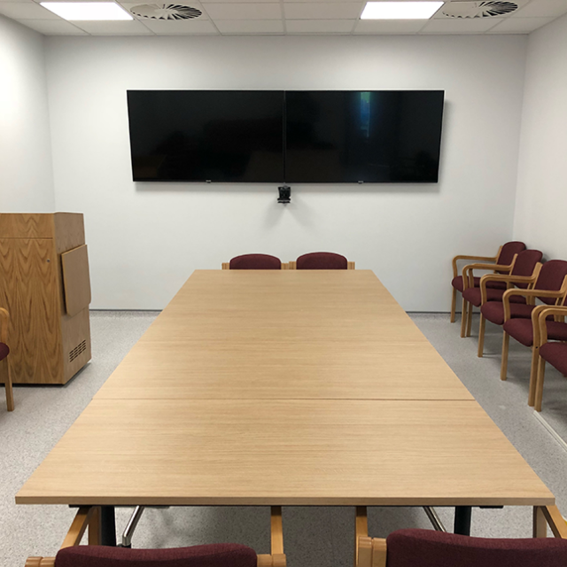 Griffin-Audio-Visual-Conference-Suite-Installation